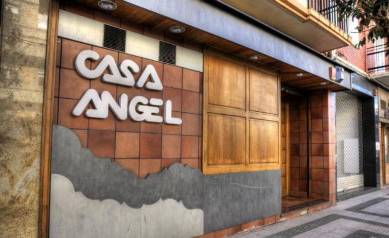 antiguo restaurante casa ángel de Pamplona