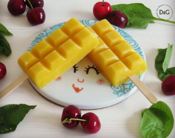 Polos de Mango sin gluten
