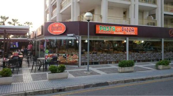 pizzería sin gluten en Salou