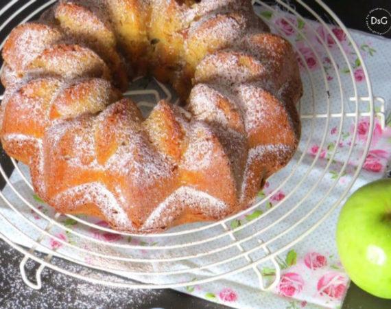 Bundt Cake de manzana caramelizada y canela