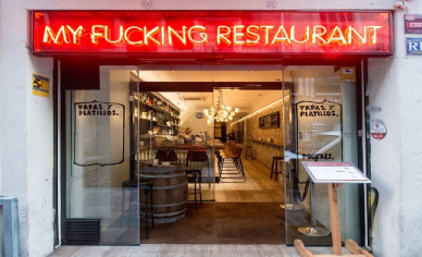 My fucking Restaurant Barcelona sin gluten