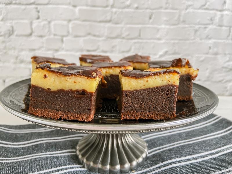 Brownie de mascarpone sin gluten