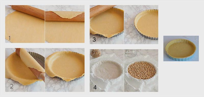 como hacer masa quebrada sin gluten