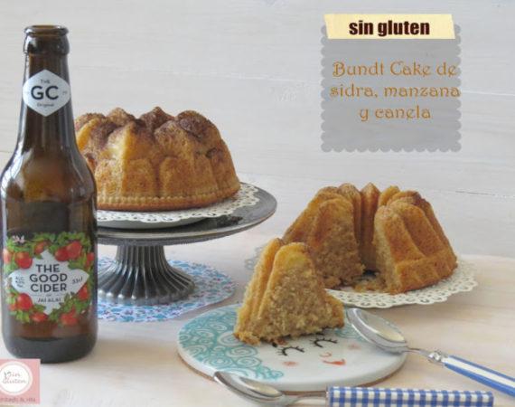 bundt cake de sidra sin gluten
