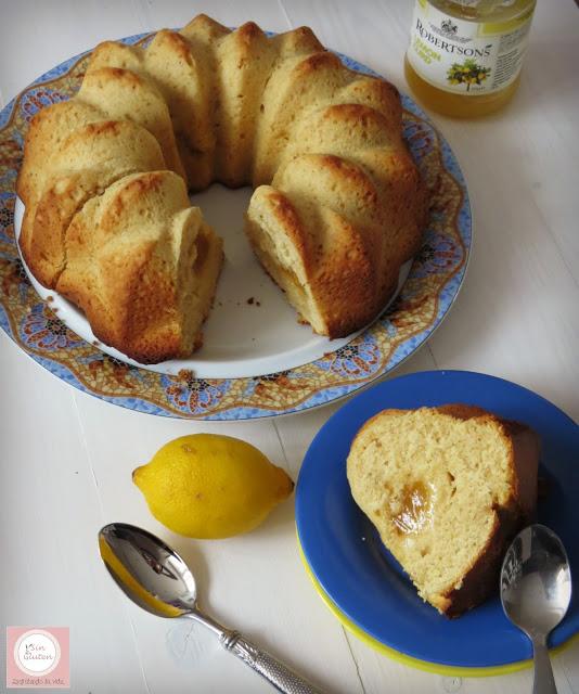 bundt cake de limón sin gluten