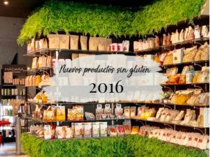 Nuevos productos sin gluten 2016