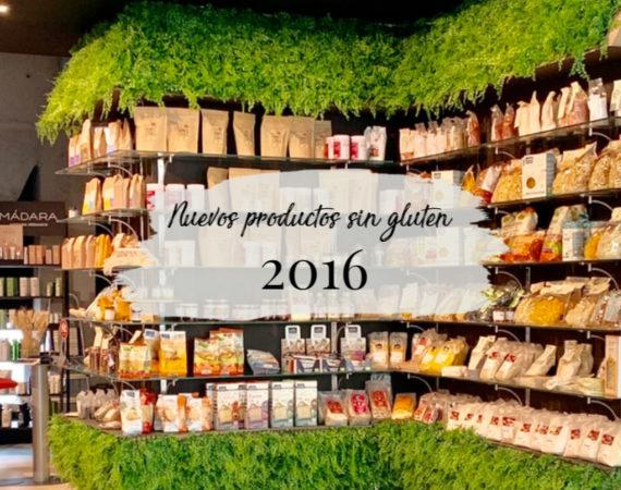 Productos nuevos sin gluten 2016