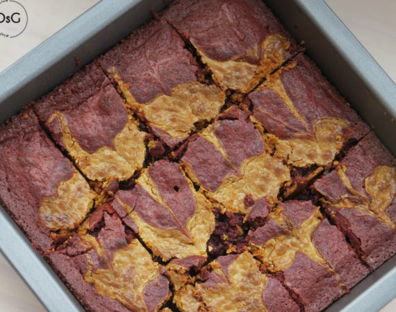 receta de brownie red velvet sin gluten