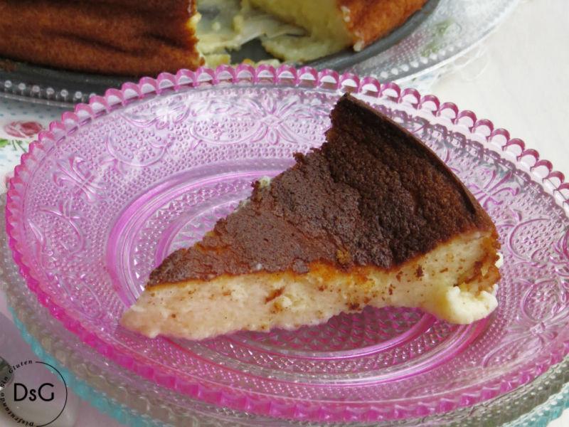 tarta de queso quark sin gluten