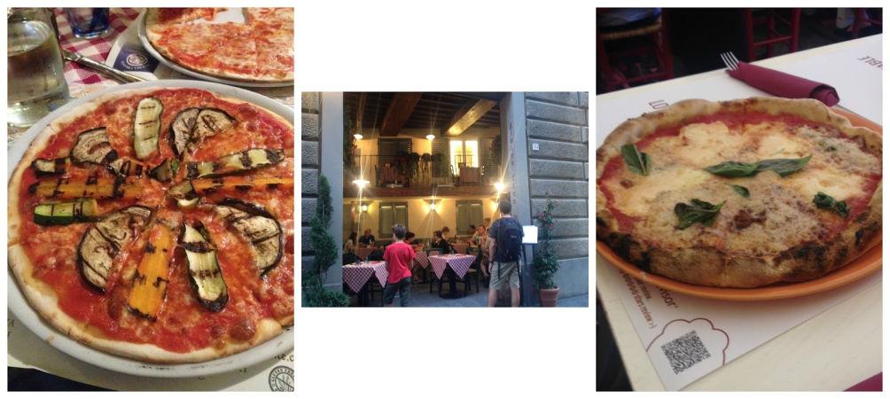 restaurante pizzeria sin gluten en Florencia Lorenzo de Médici