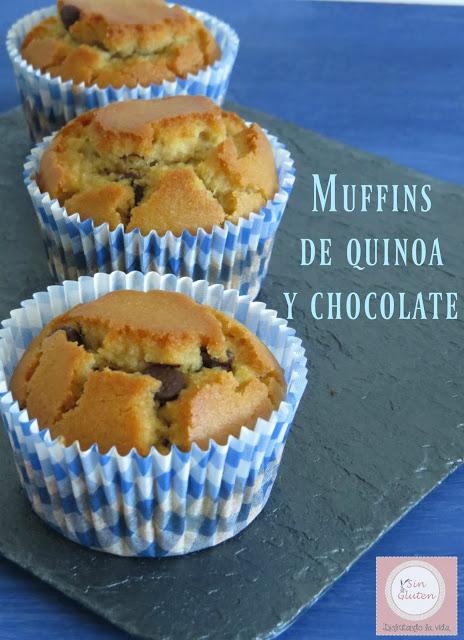 muffins sin gluten de quinoa