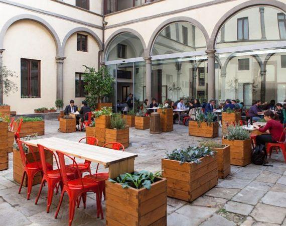 Restaurante Quinoa, Florencia