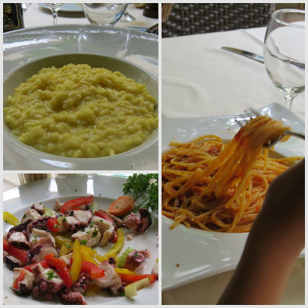 comer sin gluten en Venecia