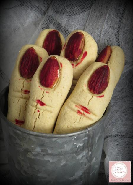 galletas dedos de bruja