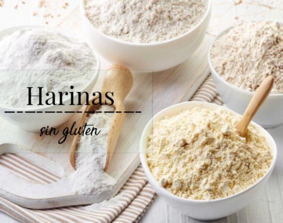 tipos de harinas sin gluten