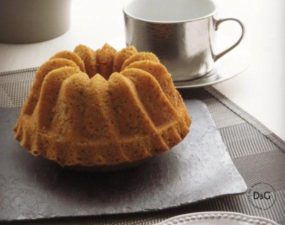 receta bundt cake sin gluten de queso batido y especias