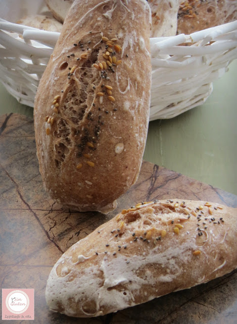 pan sin gluten con harina de sorgo