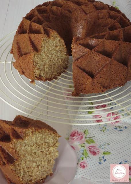 bundt cake de coco sin gluten