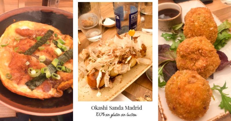 comida de Okashi Sanda 100% sin gluten
