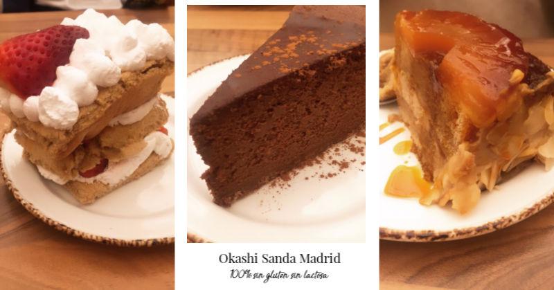 postres Okashi Sanda sin gluten