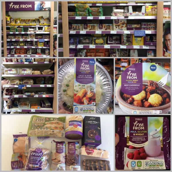 productos sin gluten en Londres