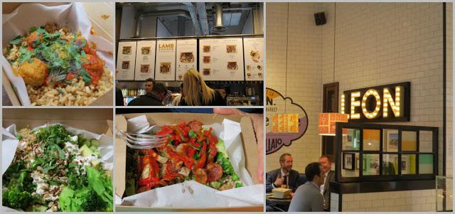 restaurante Leon sin gluten en Londres