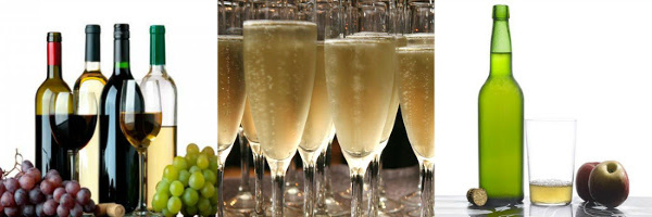 champan y sidra sin gluten
