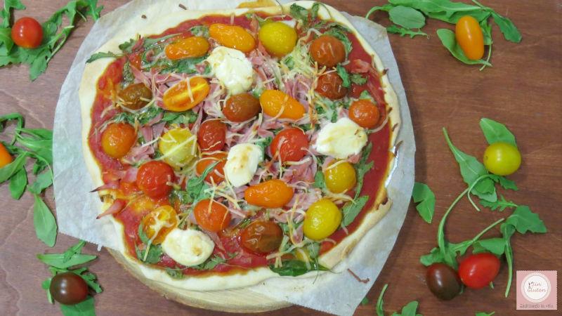 receta masa de pizza sin gluten