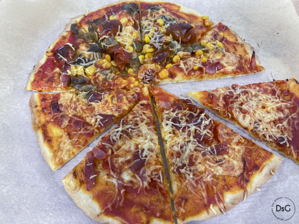 receta de masa para pizza sin gluten