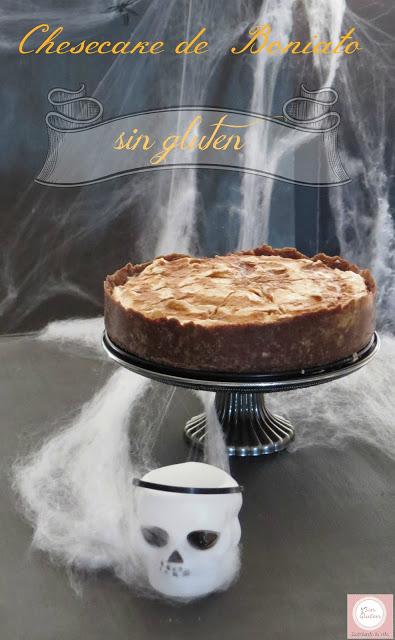 tarta de queso de boniato