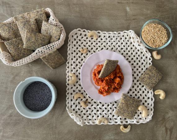 Crakers de Semillas sin gluten