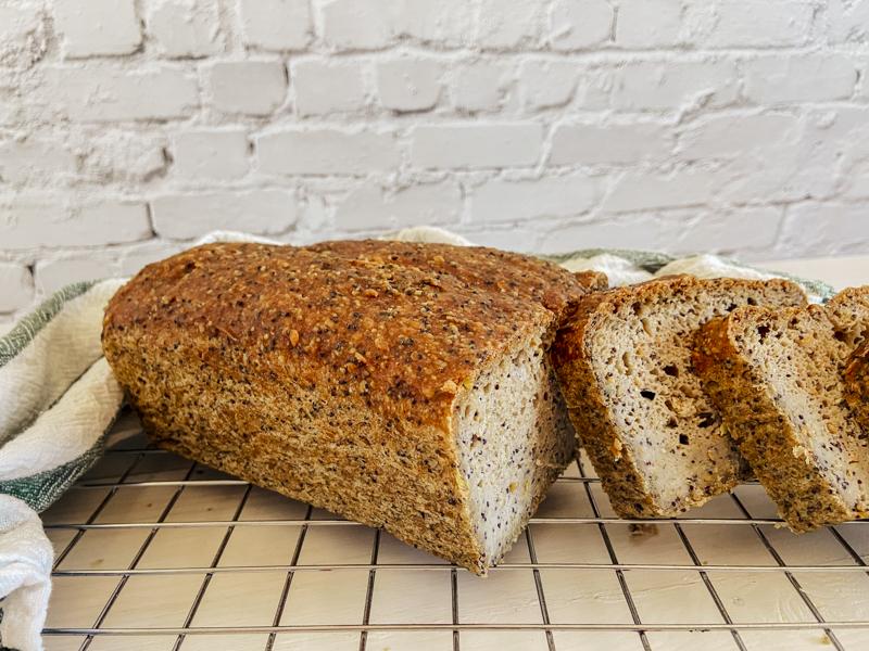 pan de trigo sarraceno sin gluten