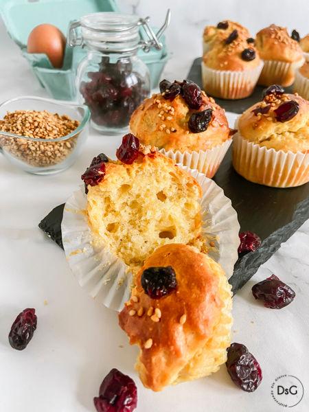muffins de leche condensada sin gluten