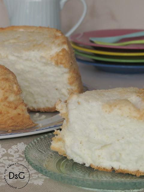 receta del bizcocho ángel food cake sin gluten