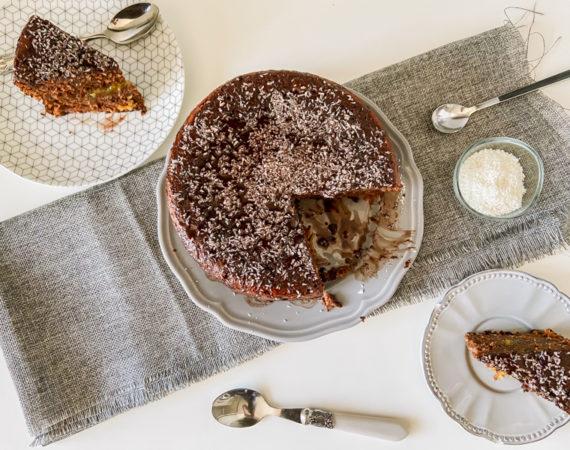 Bizcocho de Chocolate y Coco