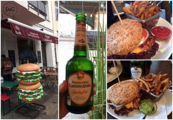 hamburguesería sin gluten en Berlin