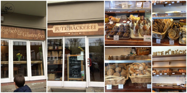 Pastelería 100% sin gluten en Berlín