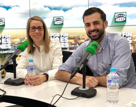 Colaboración radiofónica en Onda Cero