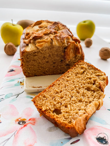 receta bizcocho manzana y canela sin gluten