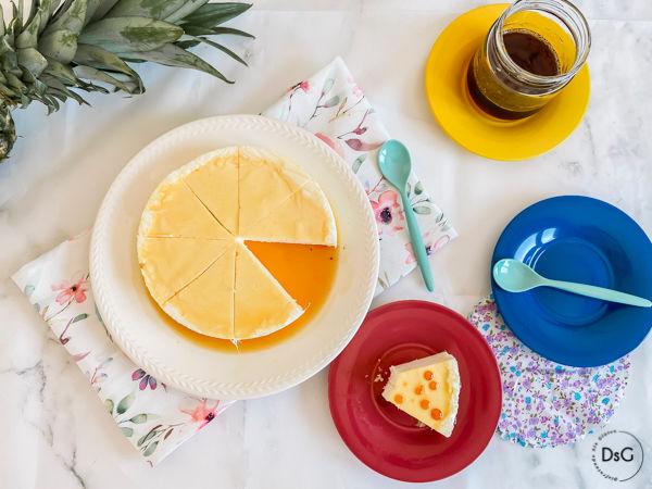 tarta de piña sin gluten