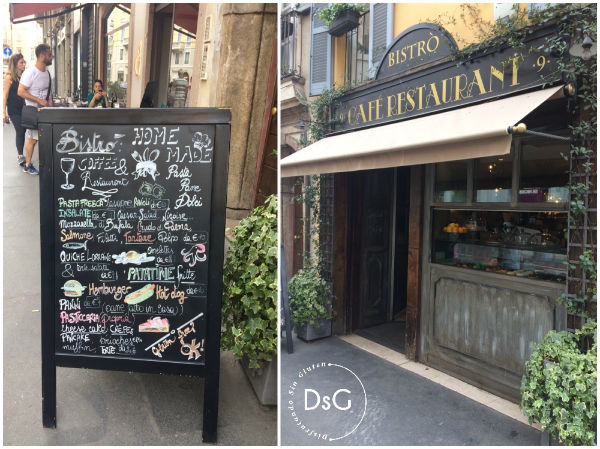 restaurante 100% sin gluten en Milán