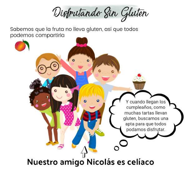 problemas de los niños celiacos en el colegio
