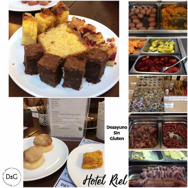 desayuno sin gluten hotel riel