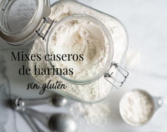 Mixes caseros con harinas sin gluten