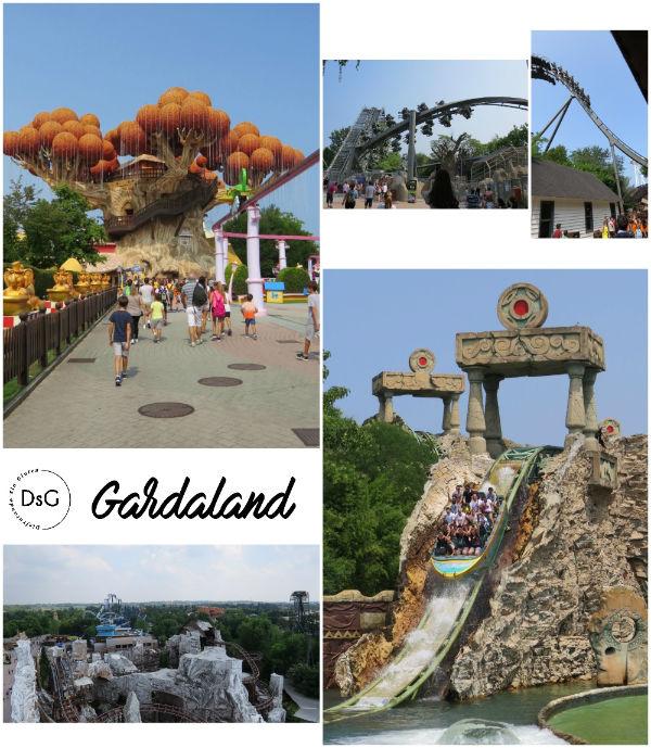 parque de atracciones Gardaland en Italia