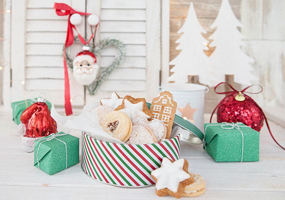 Postres sin gluten para Navidad