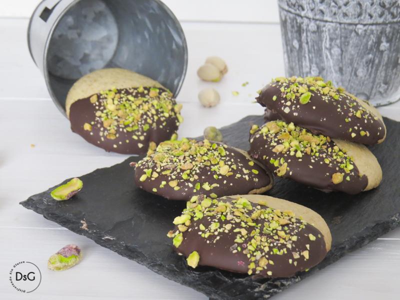 galletas de pistachos sin gluten