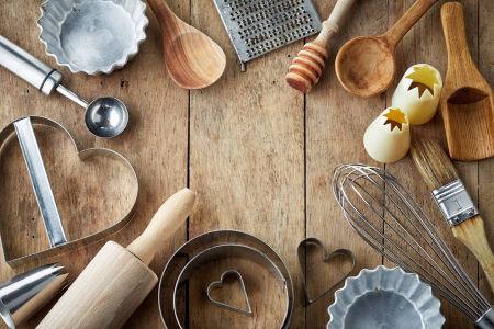 utensilios para hornear