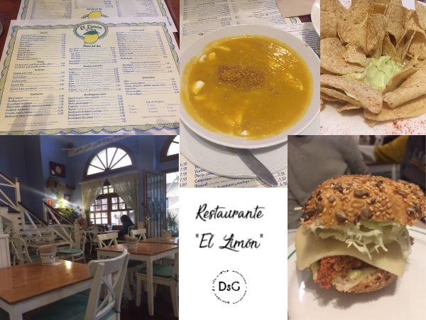 restaurante sin gluten el limón