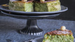 tarta de queso japonesa sin gluten de te matcha